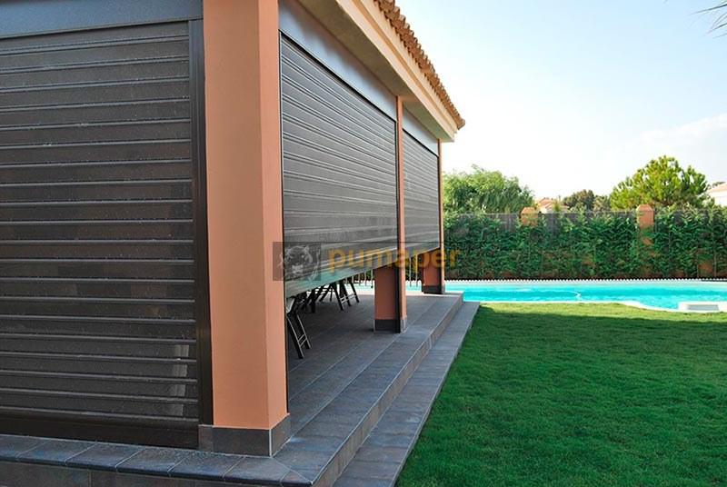 Cerramientos porches y terrazas pumaper puertas de - Cerramientos de parcelas ...