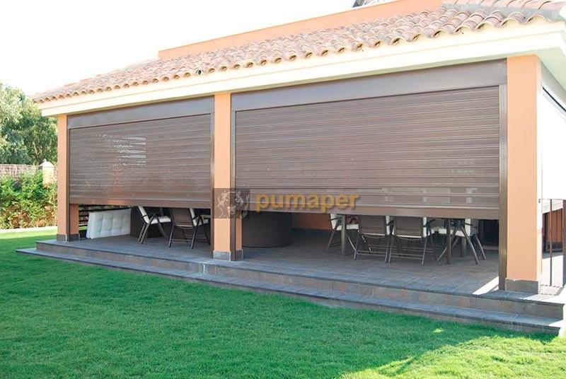 Cerramientos porches y terrazas pumaper c diz - Cerramientos de aluminio para porches ...
