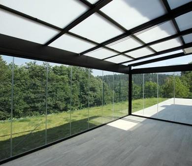 Techos de cristal pumaper puertas de seguridad para - Techos de cristal para terrazas ...