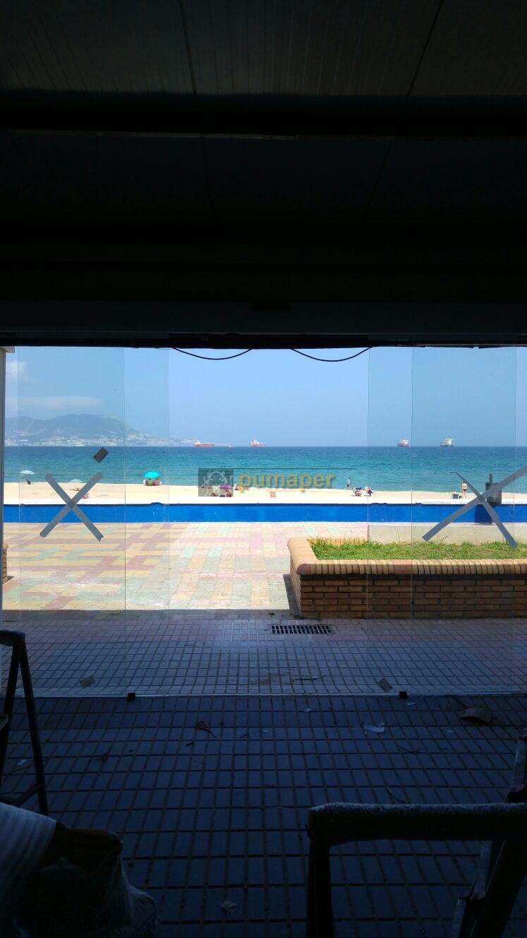 puerta automatica de cristal Algeciras