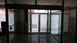 puerta automática cristal barbate