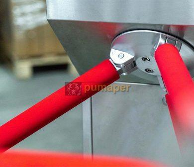 Puerta acceso rotatorio sin contacto